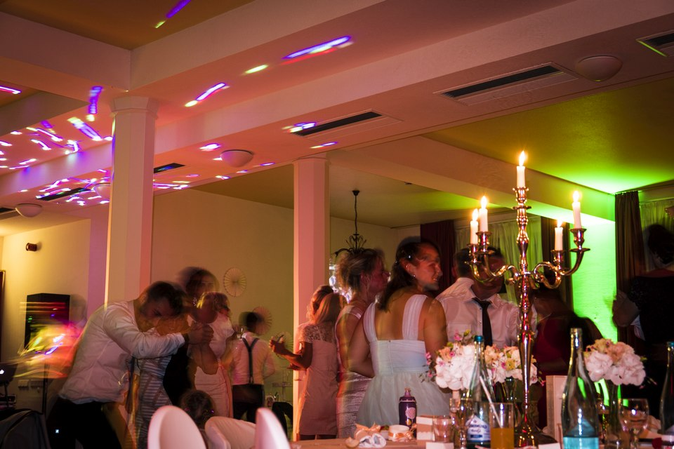 Lichttechnik Hochzeit DJ
