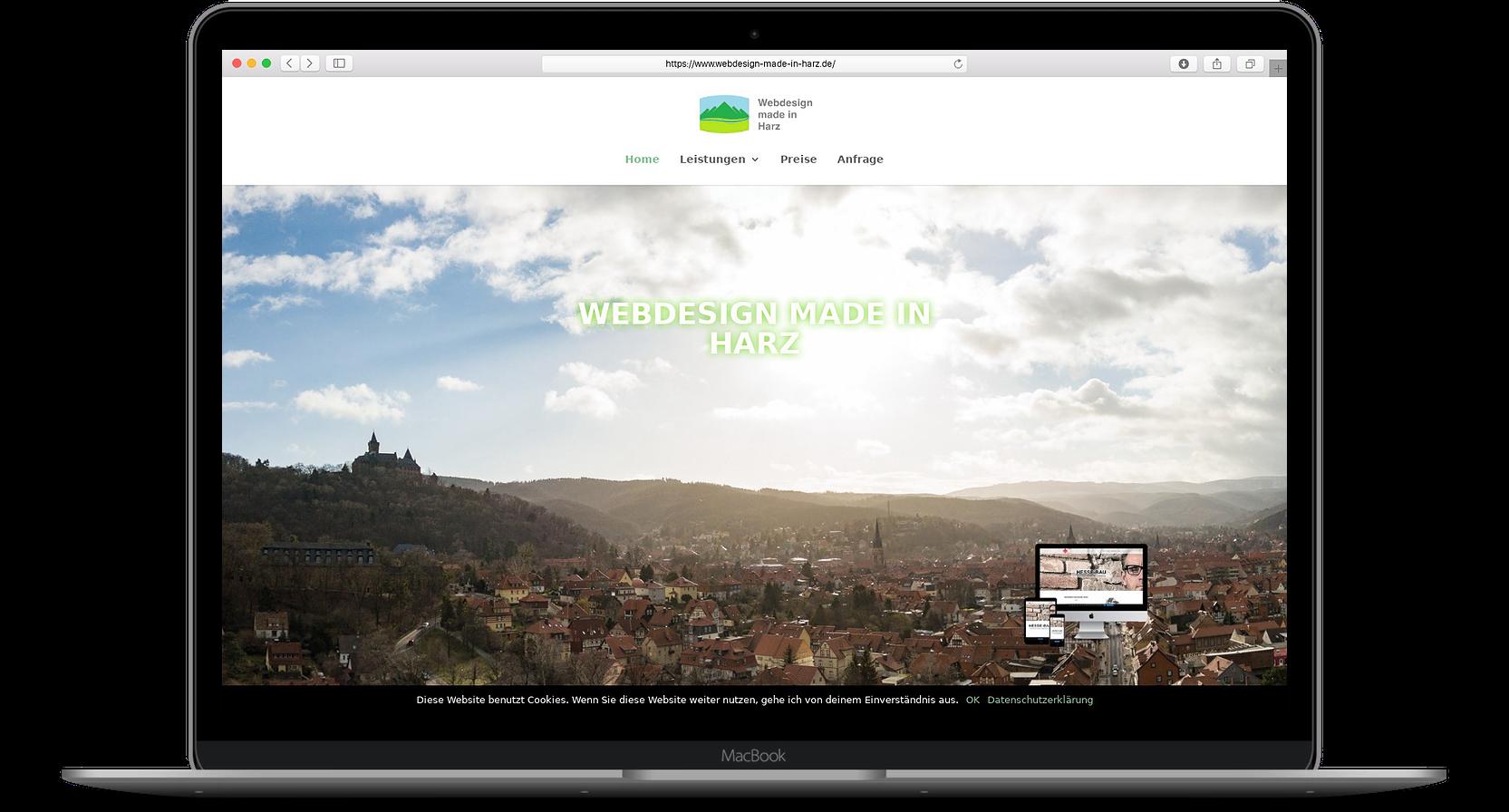 Webdesign Harz